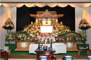 こまつ会館 祭壇